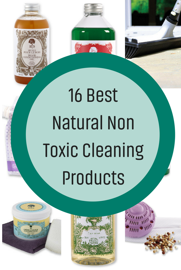 Meet The Man Who Apparently Brought Toxic Bleach Product >> 16 Best Natural Non Toxic Cleaning Products Natural Cleaning Mama